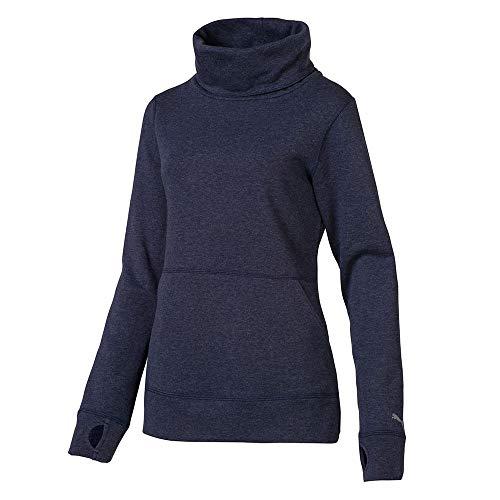 Puma Golf Women 2019 Brisk Pullover Peacoat Heather Medium