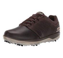 Skechers Men Pro 4 Waterproof Golf Shoe Chocolate 9 M US