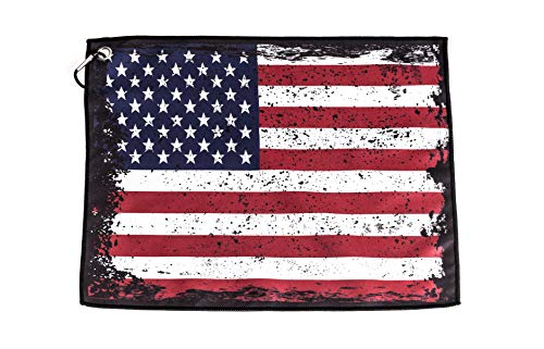 Stone Products Flag Golf Towel