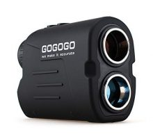 Gogogo Sport Laser Golf Hunting Rangefinder 6X Magnification Clear View 650 900 Yards Laser Range Finder Accurate Range Scan Slope Function PinSeeker & FlagLock EasytoUse Range Finder