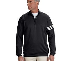 adidas Mens Climalite 3Stripes Pullover